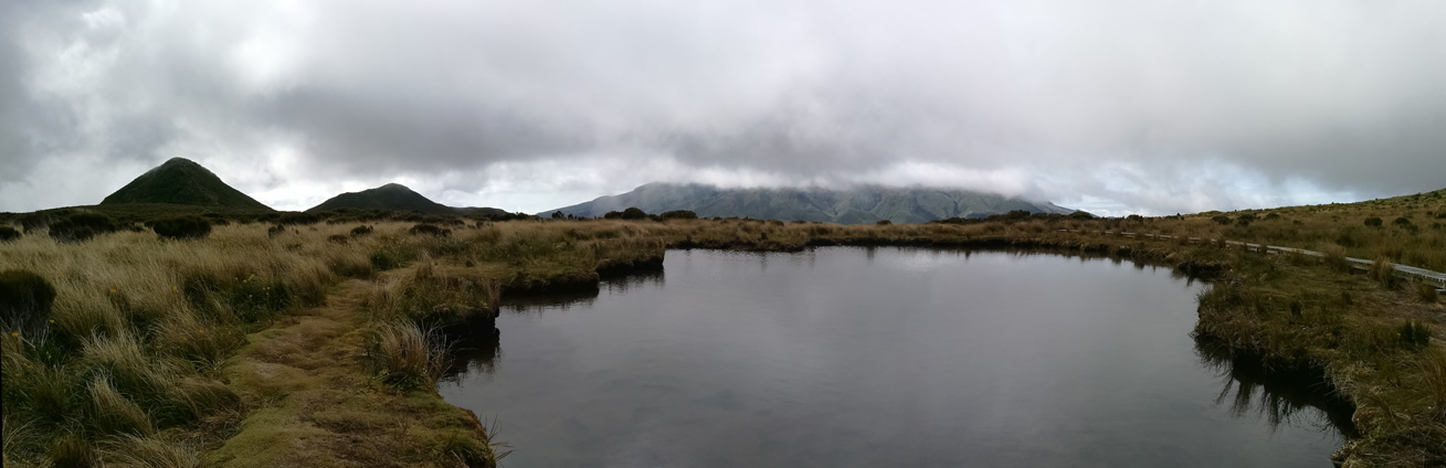 Tarns and the Pouakai