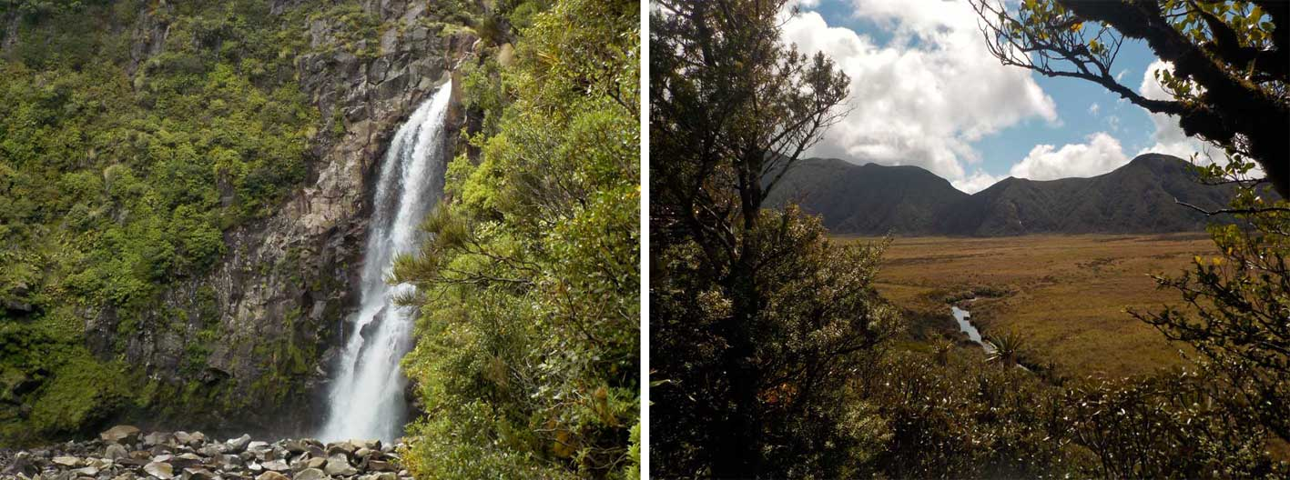 bells falls and ahukawakawa